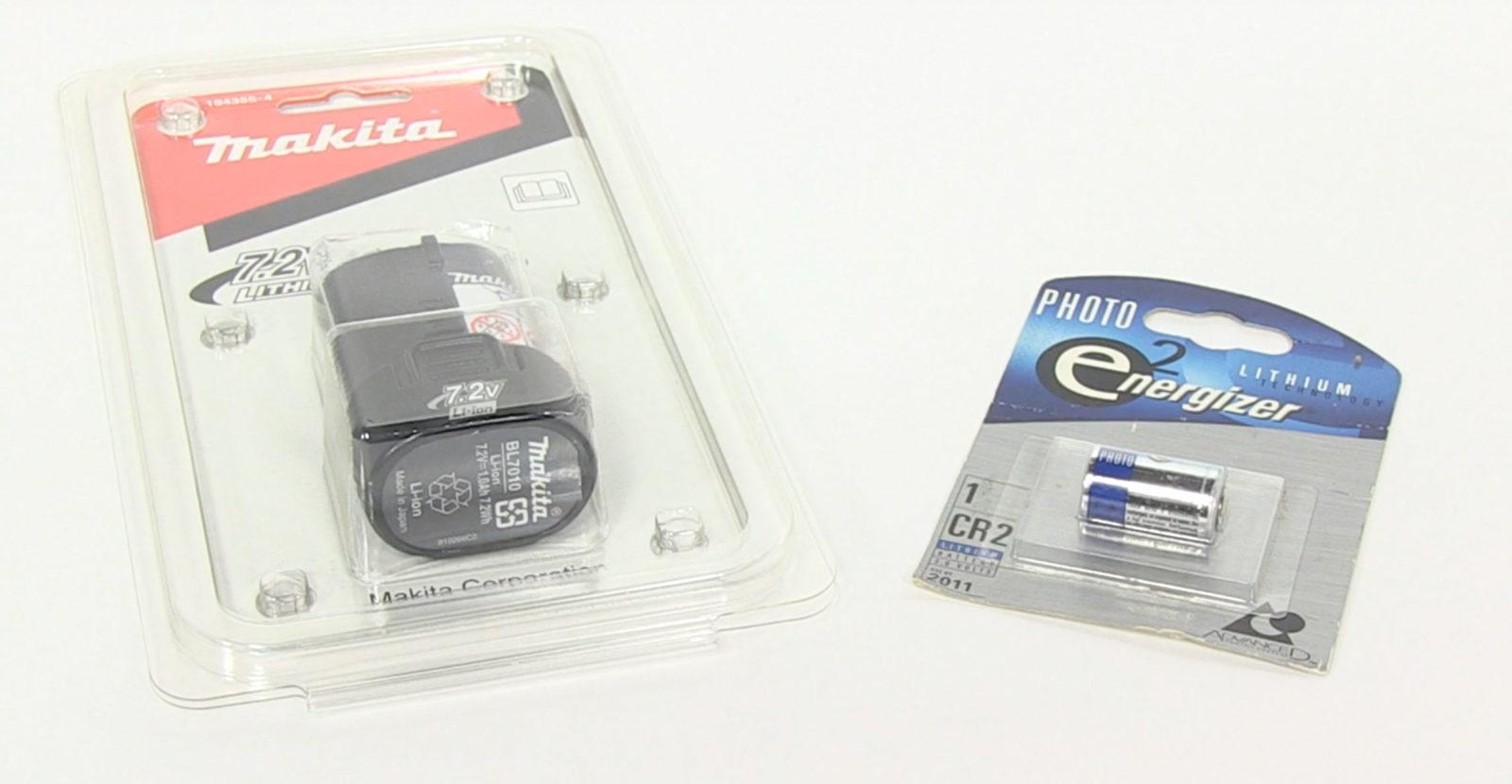 Batterie confezionate