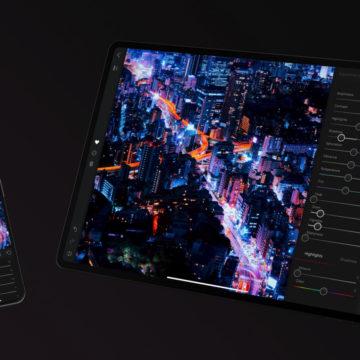 Darkroom, la potente app di foto editing di classe desktop ora è anche su iPad