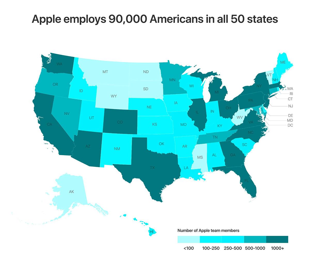 Austin, Seattle e Culver City, tre nuovi quartier generali per una Apple che non può più avere come unico riferimento Cupertino