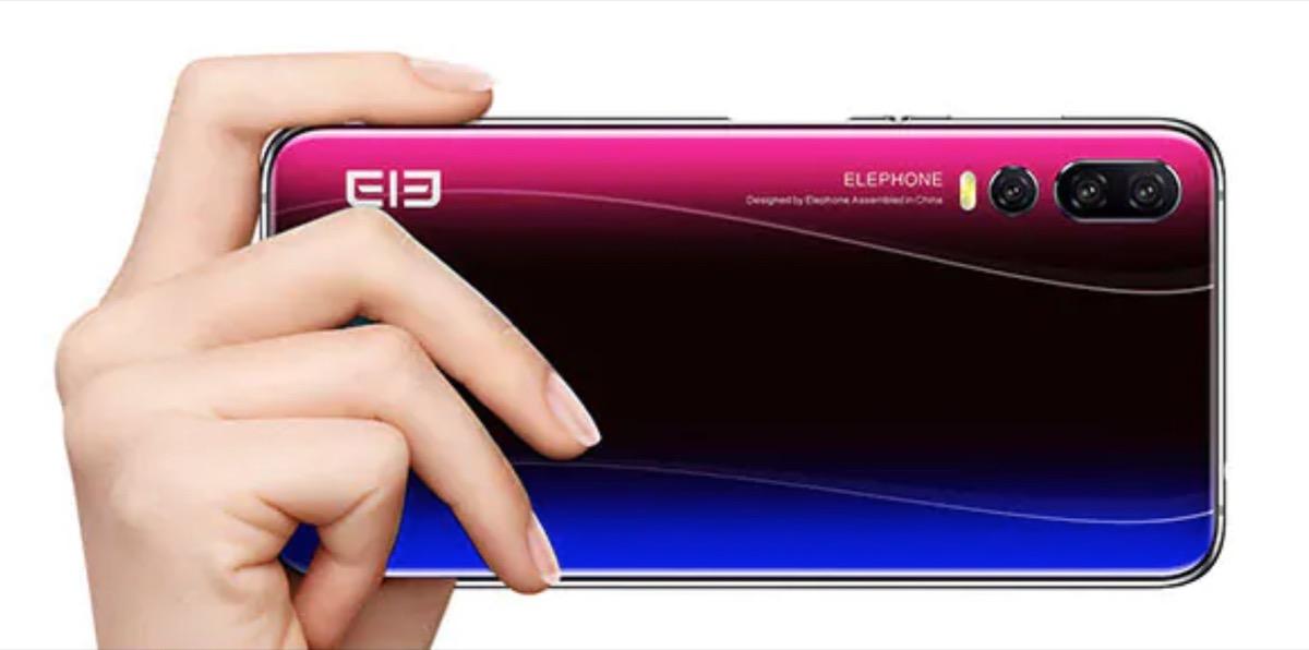 Elephone A5, lo smartphone con 5 fotocamere