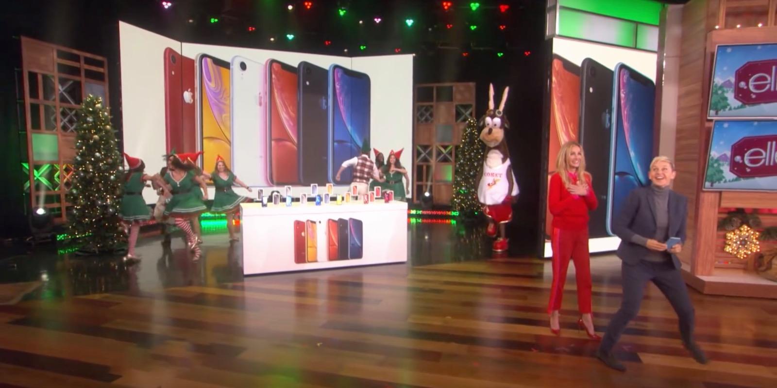 Sorpresa in sala, Apple regala iPhone XR al pubblico di The Ellen Show