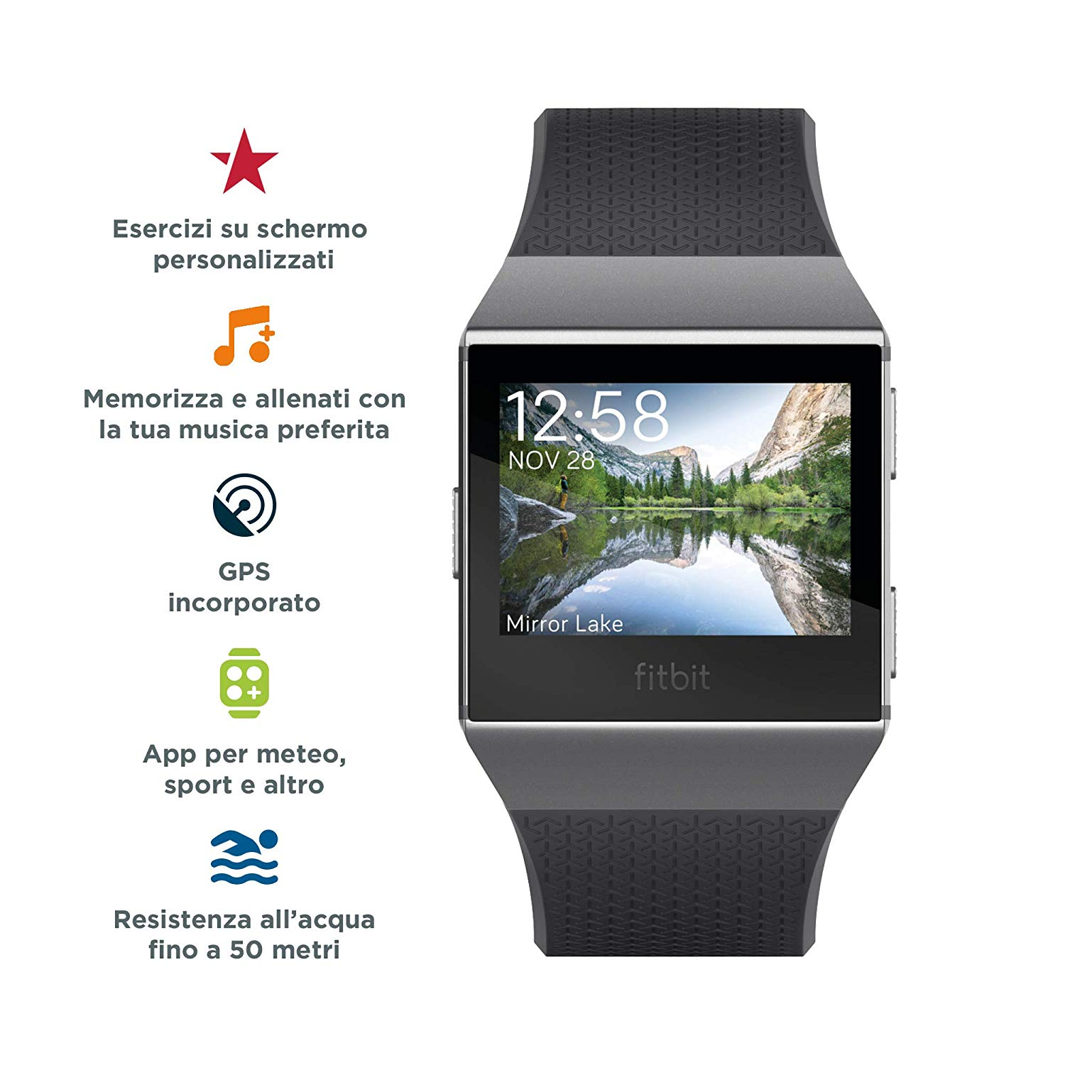 Fitbit Ionic, alternativa ad Apple Watch in sconto 199 euro