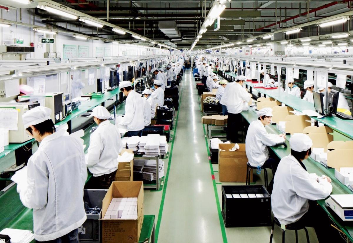 fabbrica iphone coronavirus Foxconn