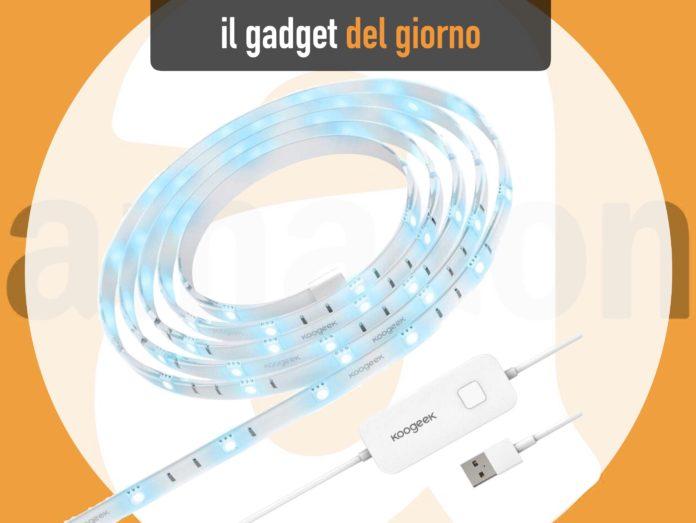 Striscia LED Koogek compatibile con Homekit, Alexa, Assistente Googe e USB