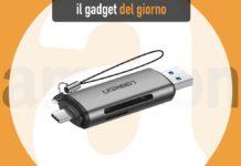 Da Ugreen il lettore di schede SD/microSD con doppia spina USB-A/USB-C
