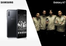 Samsung Galaxy A7 in edizione speciale canta l'inno della Juve