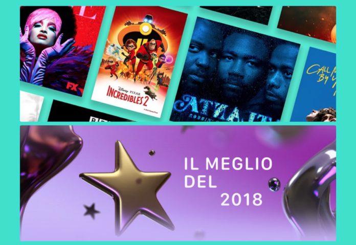 Il meglio del cinema del 2018, la classifica italiana di Apple