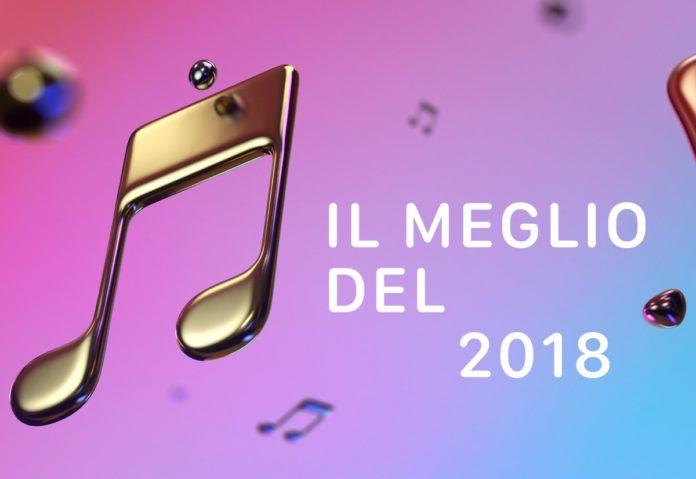 Il meglio della musica del 2018, la classifica Apple Music in Italia
