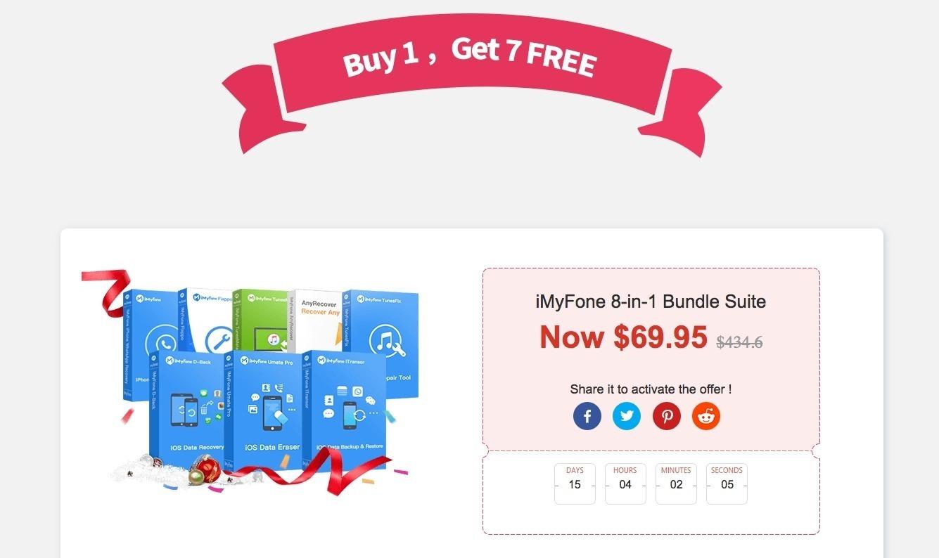 Scarica gratis 2 software per iPhone: ecco come ottenere i regali di iMyfone