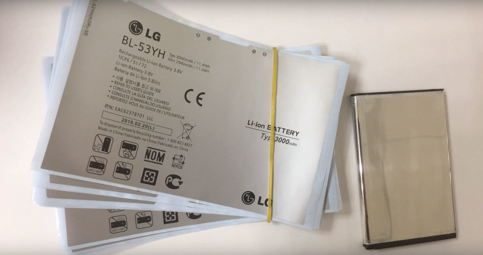 Documentazione relativa alle batterie