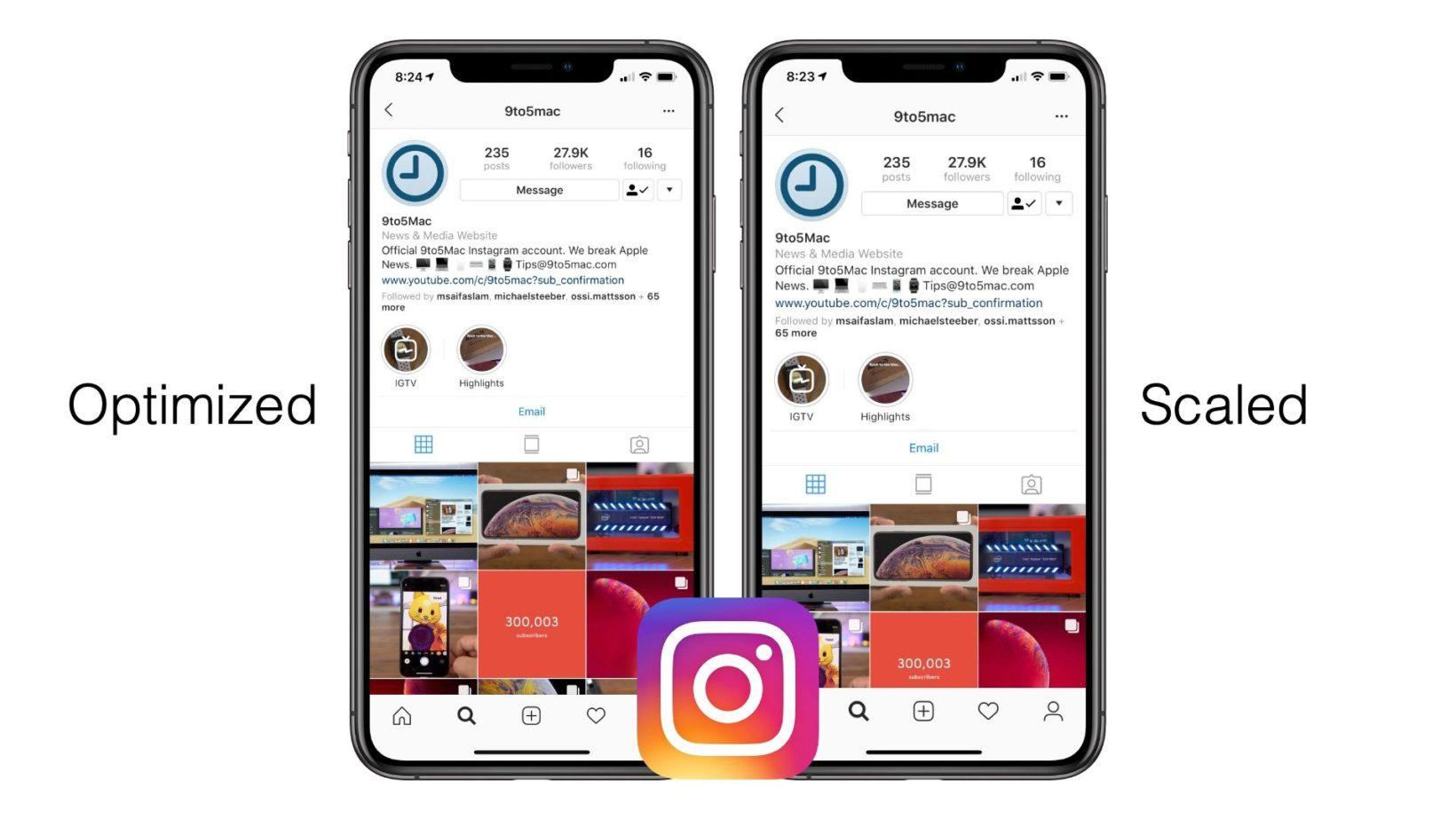 Ecco perché Instagram non è più ottimizzato per iPhone XR e XS Max