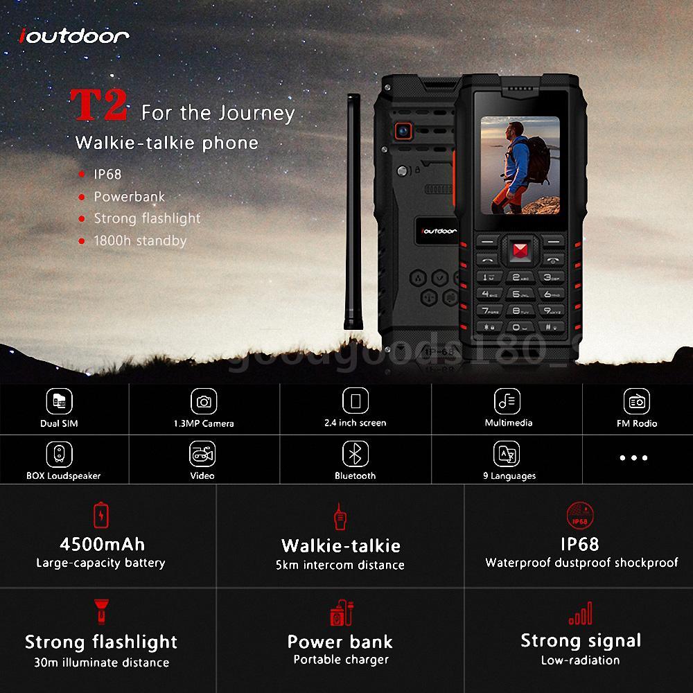 Ioutdoor, il feature phone walkie talkie economico, perfetto per le avventure