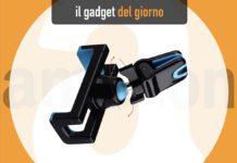 iVoler MpaCar12, il supporto smartphone per la griglia di ventilazione dell'auto