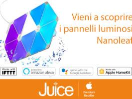 Da Juice disponibili Nanoleaf, i pannelli smart per illuminare e arredare casa