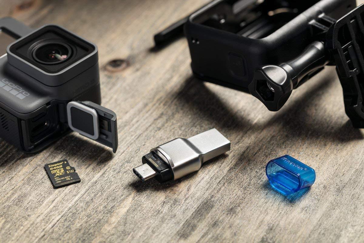 Kingston FCR-ML3C, il lettore di microSD super-compatto