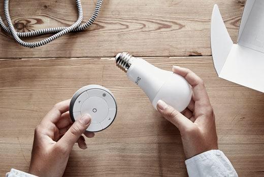 Plafoniere Ikea A Muro : Come funziona il sistema trådfri per le luci smart ikea in