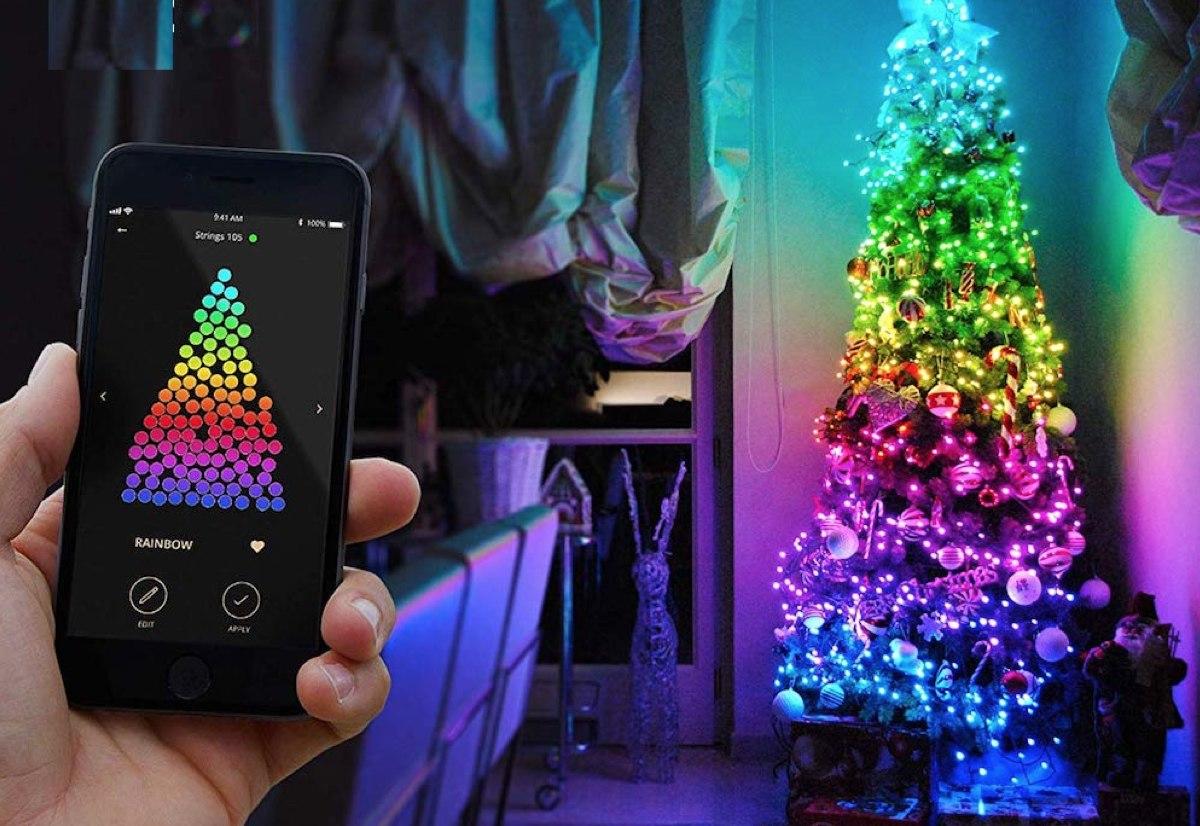 Candele luci colorate o hi tech le migliori luci di for Luci per decorare la stanza