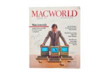 Il primo numero di Macworld autografato da Steve Jobs venduto per 47.775$
