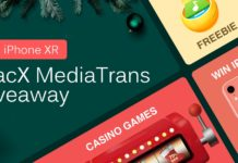 Scarica Gratis MacX MediaTrans e vinci un iPhone XR con l'offerta Digiarty