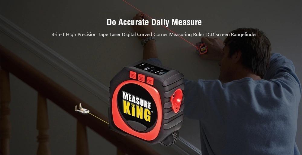 Metro smart: il misuratore laser digitale professionale 3 in 1 a soli 14 euro