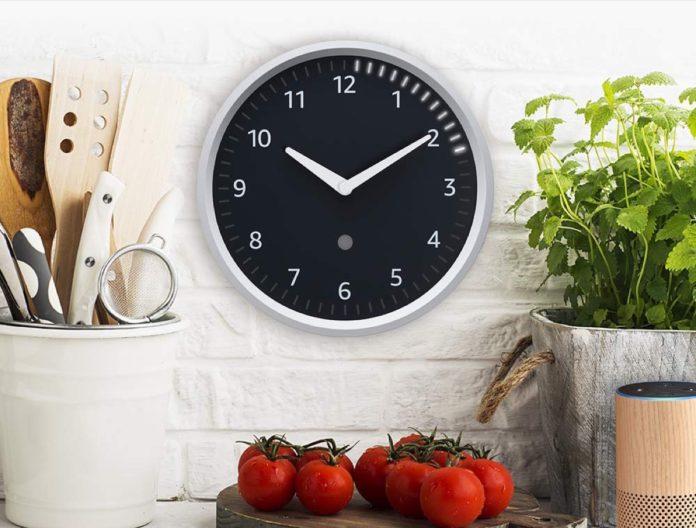 Amazon ha reso hi-tech un orologio da parete