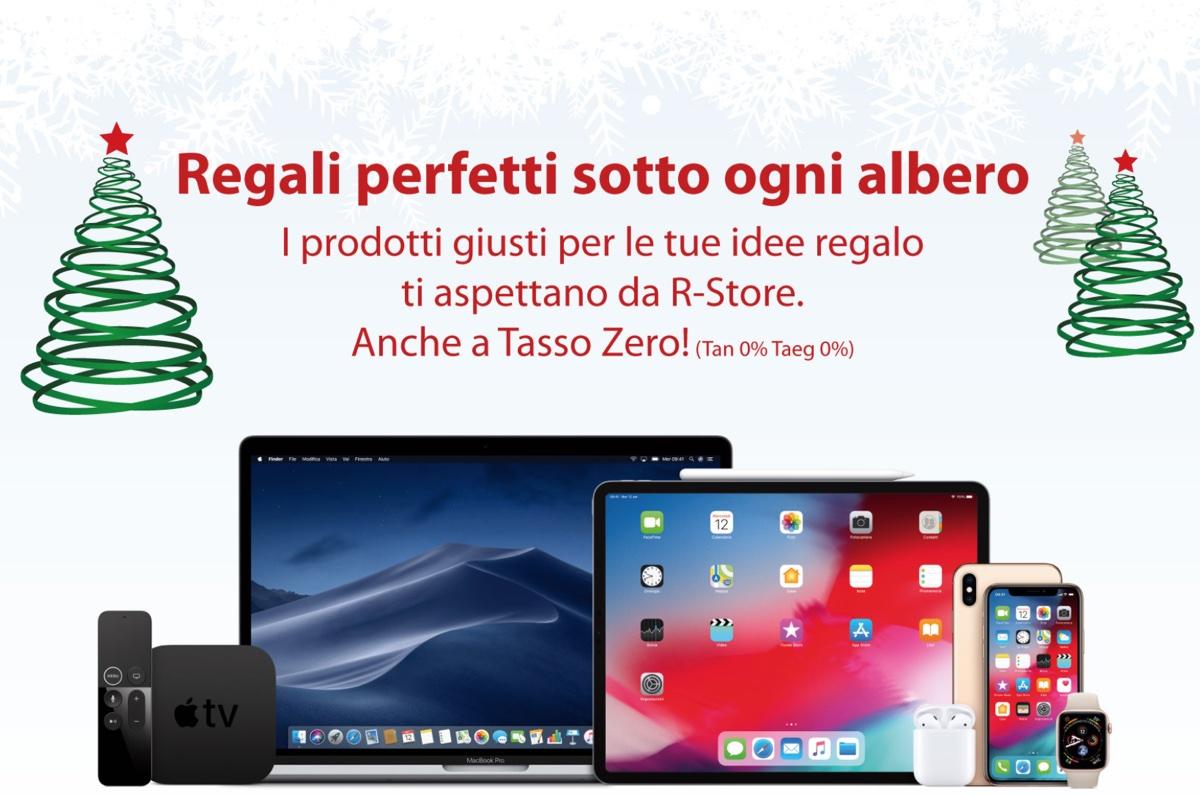 Da R-Store iPhone X in offerta, i migliori prodotti Apple e non solo per i regali anche a Tasso Zero
