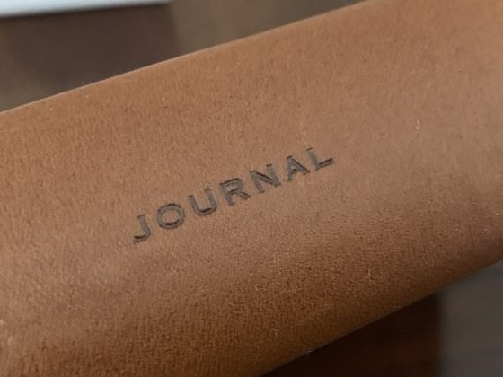Sul dorso la scritta Journal
