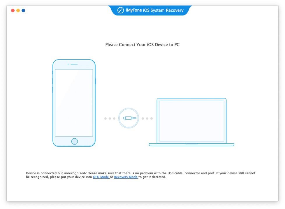 iMyFone Fixppo – ripare schermo nero iPhone e altri problemi iOS su Mac