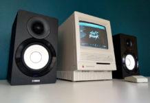 Mac SE con Spotify