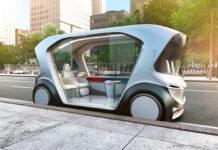 Prototipo di shuttle elettrico di Bosch