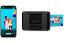Stampante Lifeprint 2×3 Instant Print Camera per iPhone