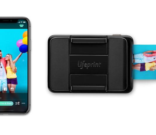 Stampante Lifeprint 2×3 Instant Print Camera per iPhone