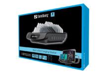 Sandberg, una stazione di ricarica con sette porte USB-A e una porta USB-C