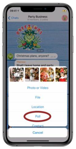 Telegram introduce i Sondaggi per organizzare lavoro e vita privata