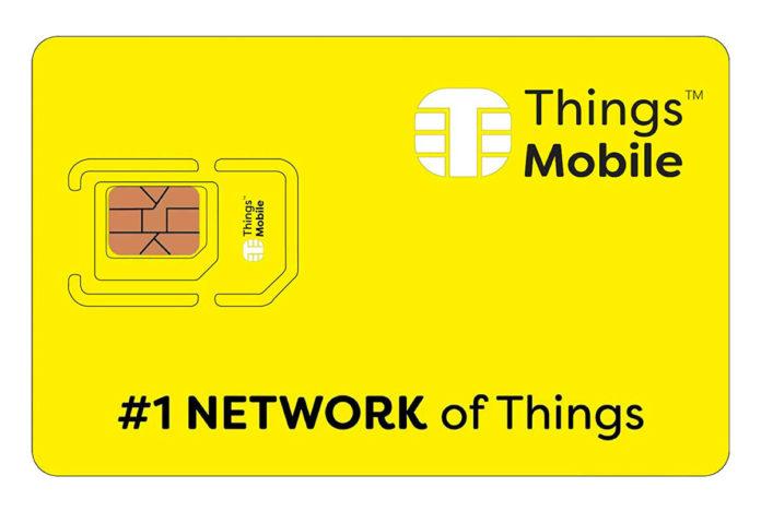 La SIM IOT e M2M di Things Mobile perfetta per domotica, allarmi, automotive