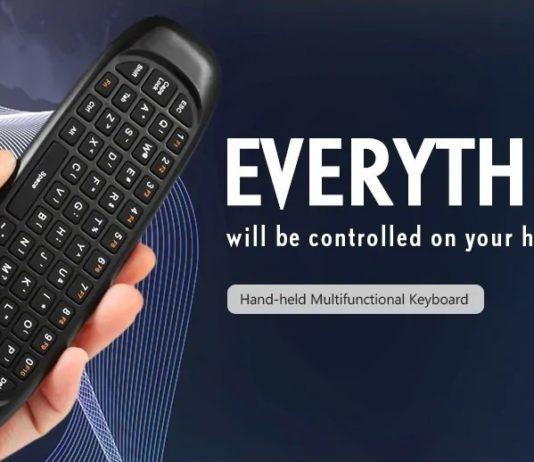 TK668, l'air mouse indispensabile per TV Box, Media Player, PC e altri dispositivi