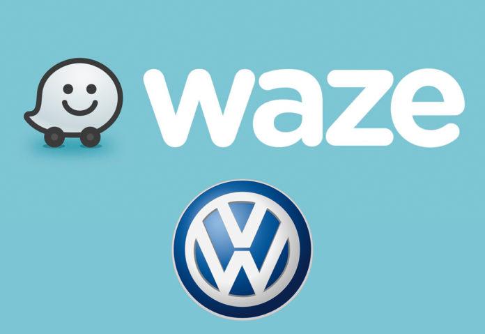 """Waze va a braccetto con Volkswagen, che diventa più """"smart"""""""