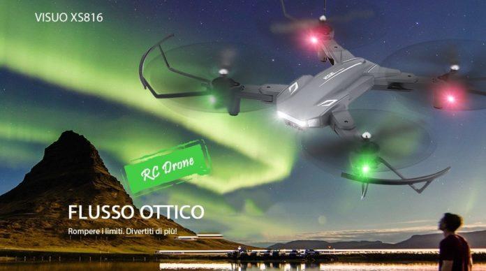 Tianqu VISUO XS816, in offerta il drone con visore per il volo da interno