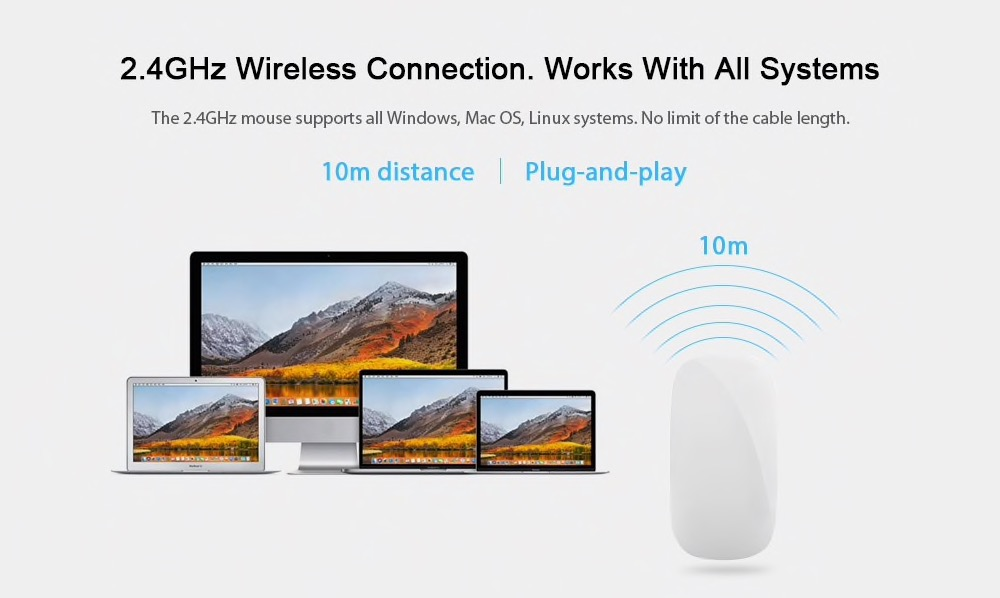 Il clone del Magic Mouse Apple a soli 6 euro