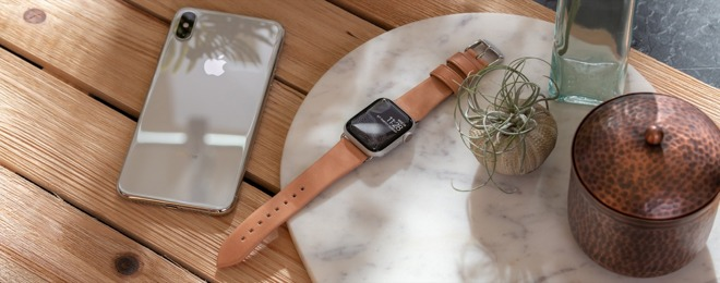 Nomad debutta con cinturino Apple Watch e cover per la custodia AirPods in pelle naturale