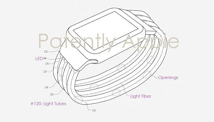 Apple brevetta il cinturino Apple Watch camaleonte, che cambia colore in base al vestiario