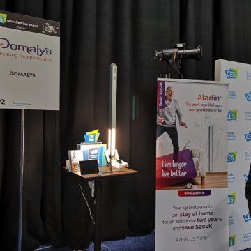 Al CES 2019 arriva Aladin, la lampada smart che salva la vita agli anziani