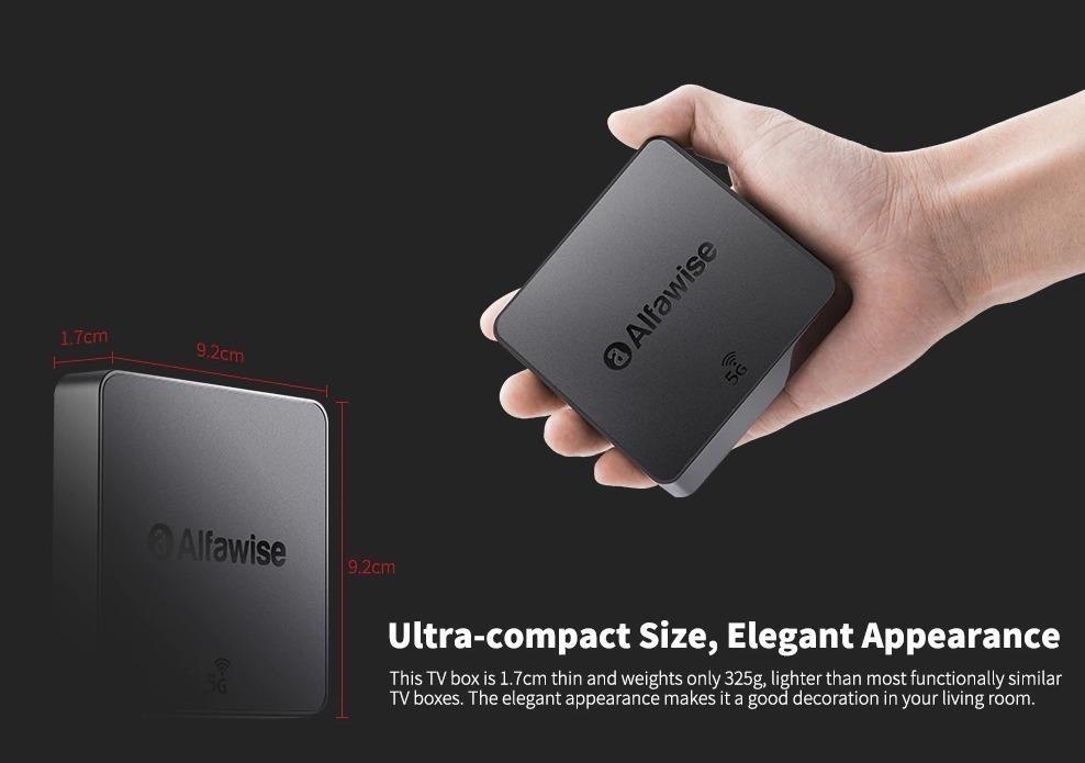 Alfawise A8 Pro, ecco il TV Box con Wi-Fi dual band e 4K per tutte le tasche
