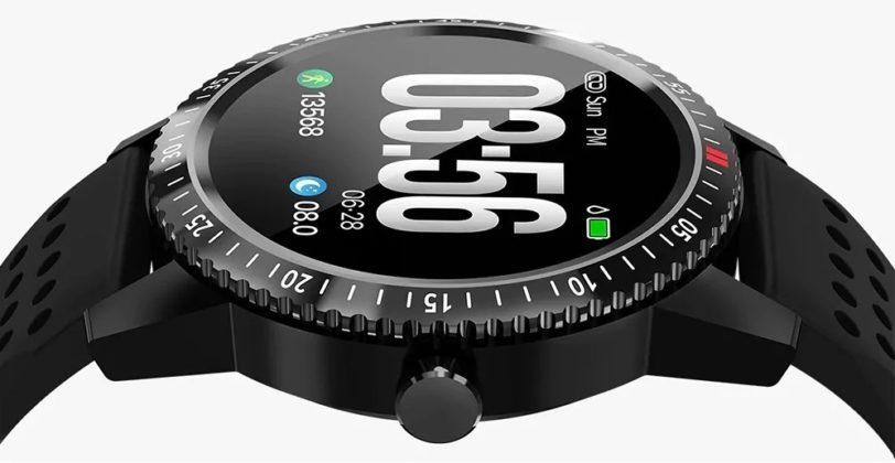 Alfawise T1, smartwatch con pressione sanguigna e..