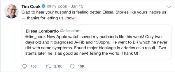 Apple Watch salva una vita in Italia