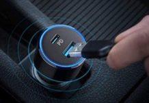 Caricatore per auto con USB-C in offerta a 19,99 euro