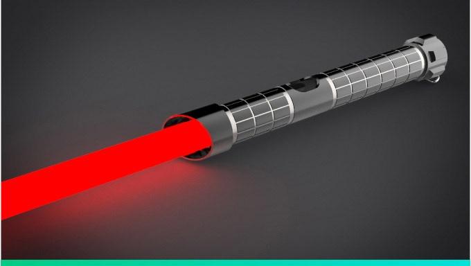 WAAN, la spada laser stile Star Wars che si controlla con lo smartphone