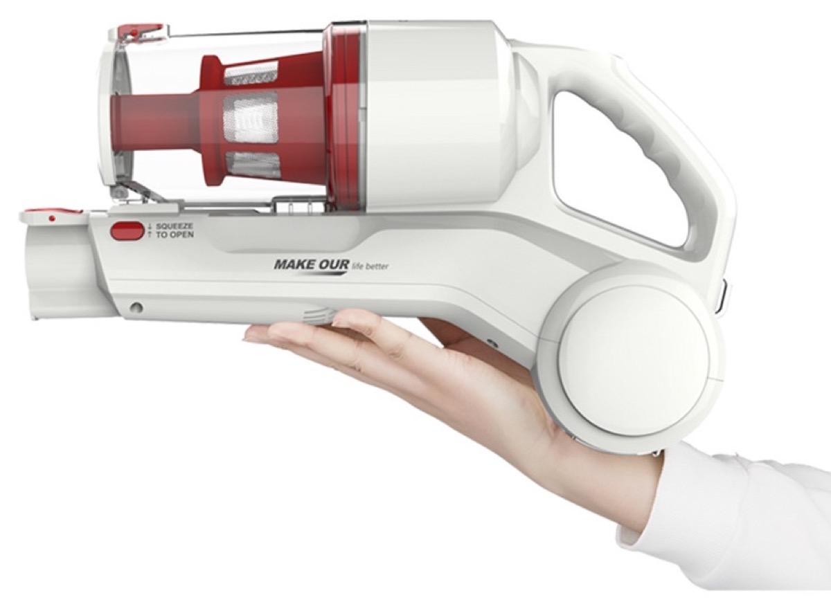 Dibea DW200 Pro, l'aspirapolvere ciclonico senza fili