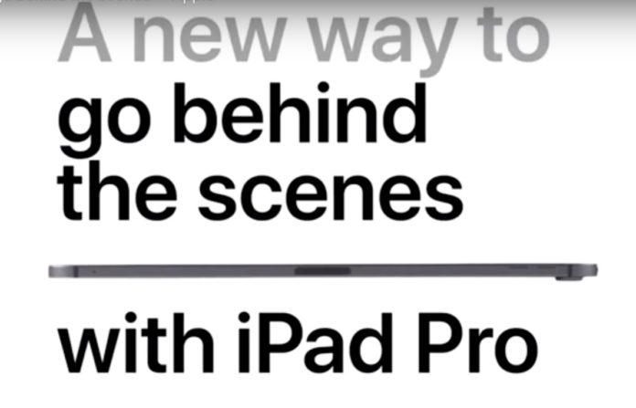 Apple pubblica il dietro le quinte degli spot iPad Pro