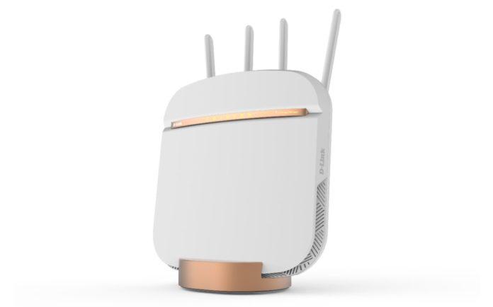 D-Link NR DWR-2010, il router 5G mostrato al CES 2019
